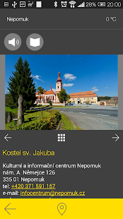 Nepomuk - audio tour- screenshot thumbnail