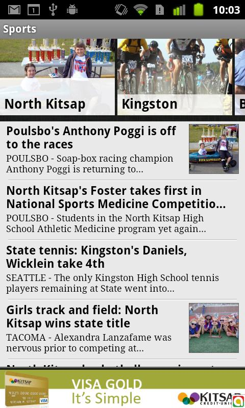 North Kitsap Herald - screenshot
