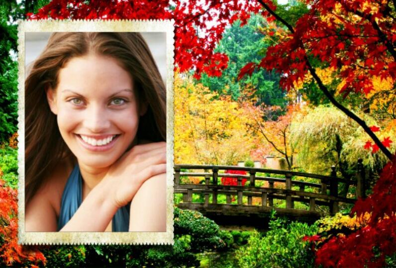 autumn photo frames screenshot