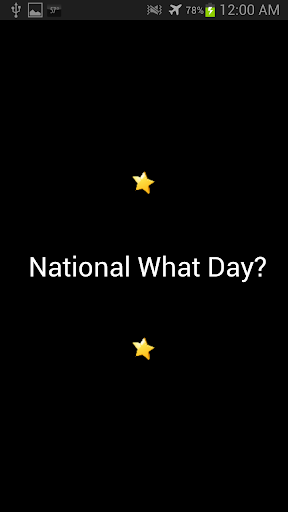 National What Day
