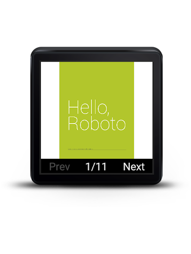 PDF Reader for Android Wear