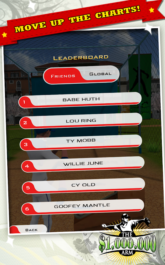 Million Dollar Arm Game - screenshot