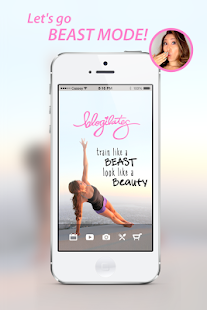 Blogilates Official App- screenshot thumbnail
