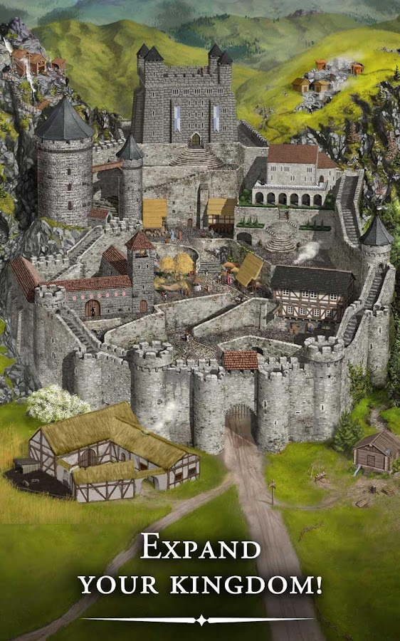 Lords & Knights - Strategy MMO - screenshot