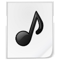 Simple MP3 widget Player icon