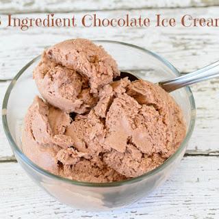 3 Ingredient Chocolate Ice Cream – No Ice Cream Machine Needed!.