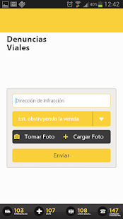 Denuncias Viales screenshot