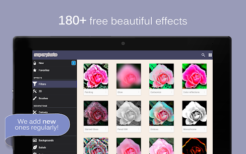 SuperPhoto - Effects + Filters- screenshot thumbnail