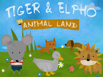 Tiger & Elpho in animal land - game box for kids APK screenshot thumbnail 4