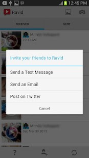 Ravid Video Messenger- screenshot thumbnail