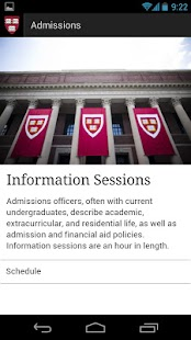 Harvard College Admissions & F - screenshot thumbnail