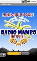 Screenshot of Radio Mambo