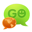 GO SMS Pro Korean language pac and GO Keyboard are from the same developer