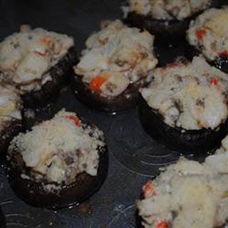 Crab Stuffed Mushrooms II