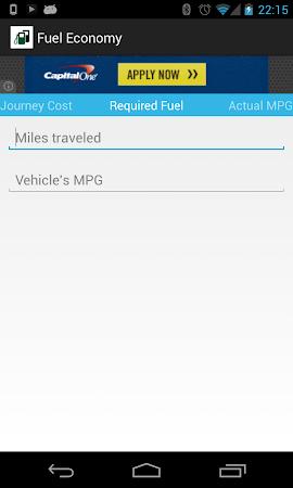 Fuel Economy 1.3 screenshot 2038146