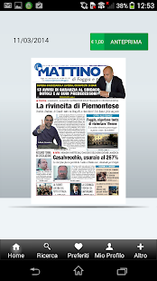 Il Mattino di Foggia- screenshot thumbnail