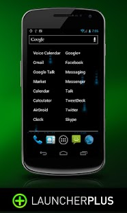 Launcher Plus Widget - screenshot thumbnail