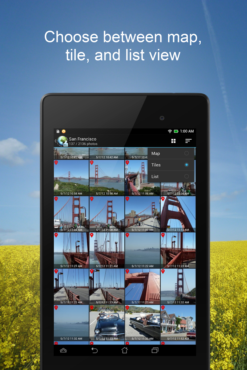 PhotoMap Gallery - Photos, Videos and Trips Screenshot 12