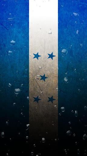 Honduras flag water effect LWP