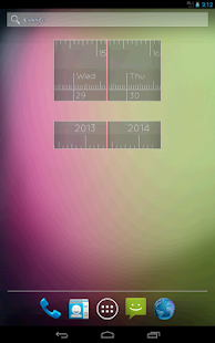 Linear Clock Pro Widget - screenshot thumbnail