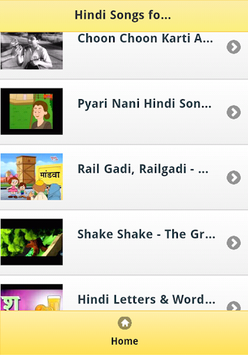 Hindi Kids Songs