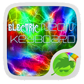 Electric Neon Go Keyboard