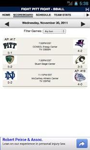 PITT Football & Basketball - screenshot thumbnail