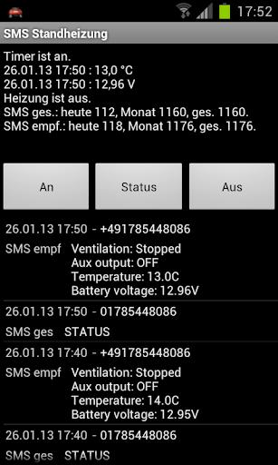 Standheizung SMS Full Plugin