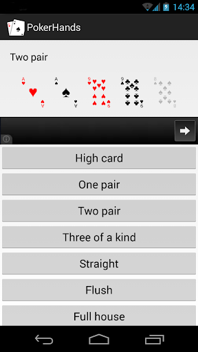 Poker Hands Helper