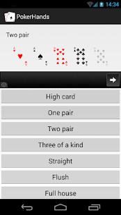 Poker Texas Hold'em Hands
