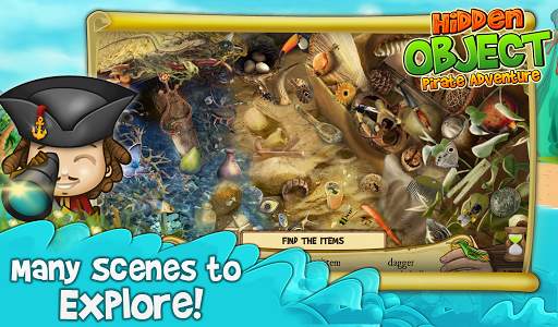 Hidden Object Pirate Adventure