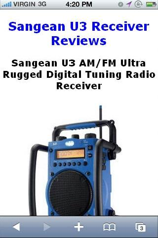 Tuning Radio Receiver Reviews