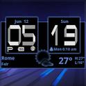 Honeycomb Weather Clock Widget icon