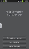Screenshot of Best Keyboard For Android