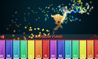 Screenshot of Rainbow Piano
