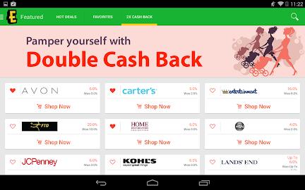 Ebates Cash Back & Coupons Screenshot 29