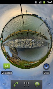 Panorama Lite Live Wallpaper screenshot 1
