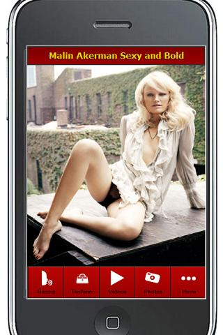 Malin Akerman Hotter Then Ever - screenshot