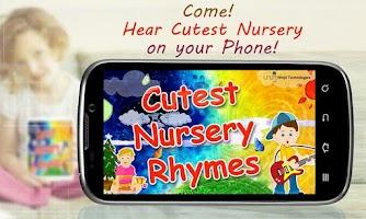 Screenshot of Cutest Nursery Rhymes