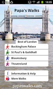 London Walks 1 with quiz lite screenshot
