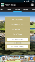 Screenshot of PA State Parks Guide