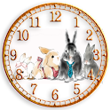 Forest Clock widget rabbit logo