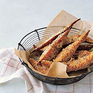 Parmesan-Coated Sweet Potato Fries.