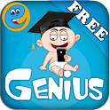 Genius Baby Flashcards 4 Kids logo