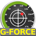 Speedometer with G-FORCE meter icon
