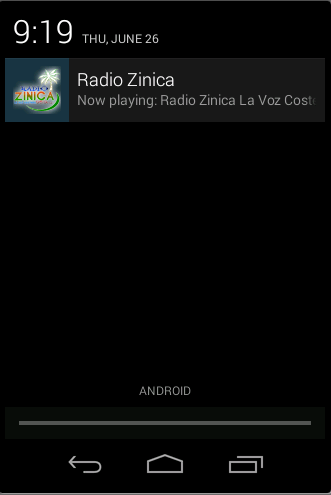 Radio Zinica- screenshot
