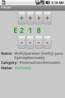 Screenshot of E-NUM