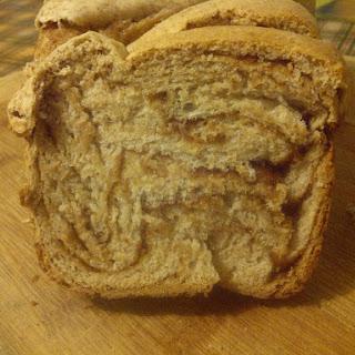Intricate Cinnamon Brioche Swirl Bread (vegan)