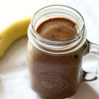 Mocha Banana Milkshake.