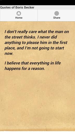 免費下載娛樂APP Quotes of Boris Becker app開箱文 APP開箱王